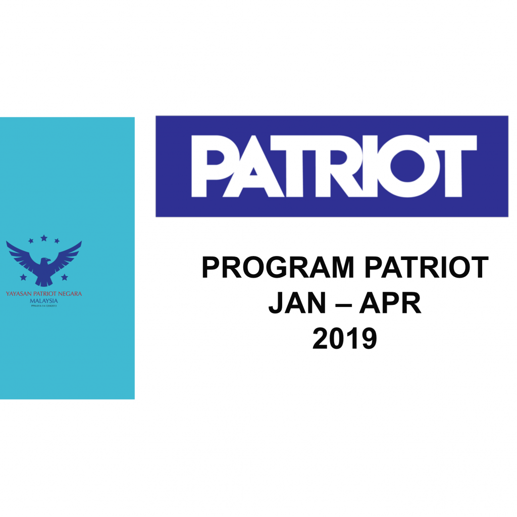 REPORT PROGRAM PATRIOT JAN-APR 2020
